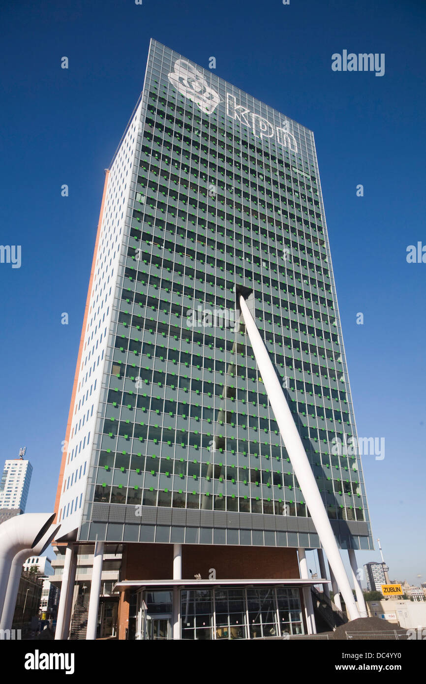KPN building by Renzo Piano Rotterdam Netherlands Stock Photo