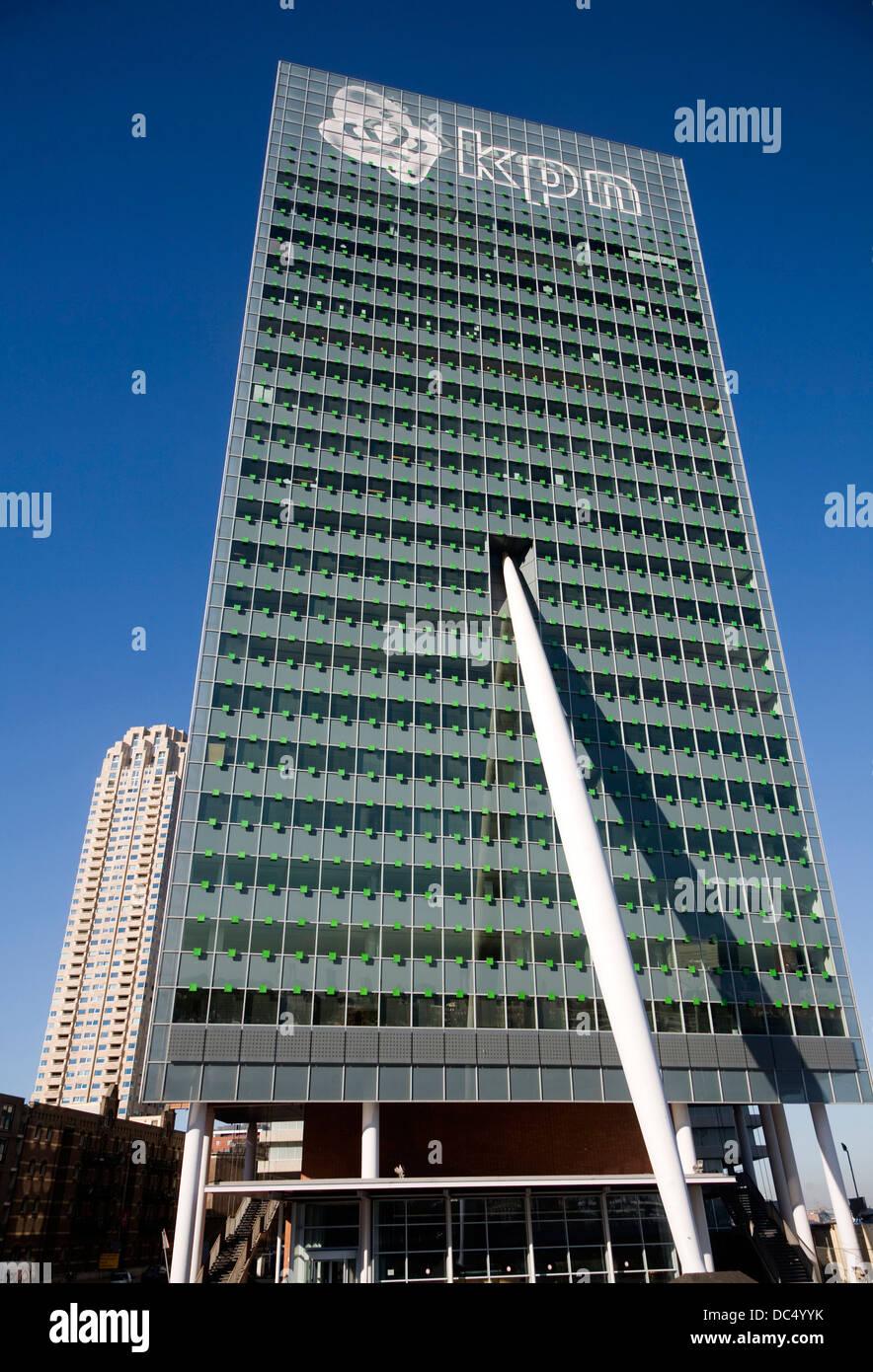 KPN building by Renzo Piano Rotterdam Netherlands - Stock Image