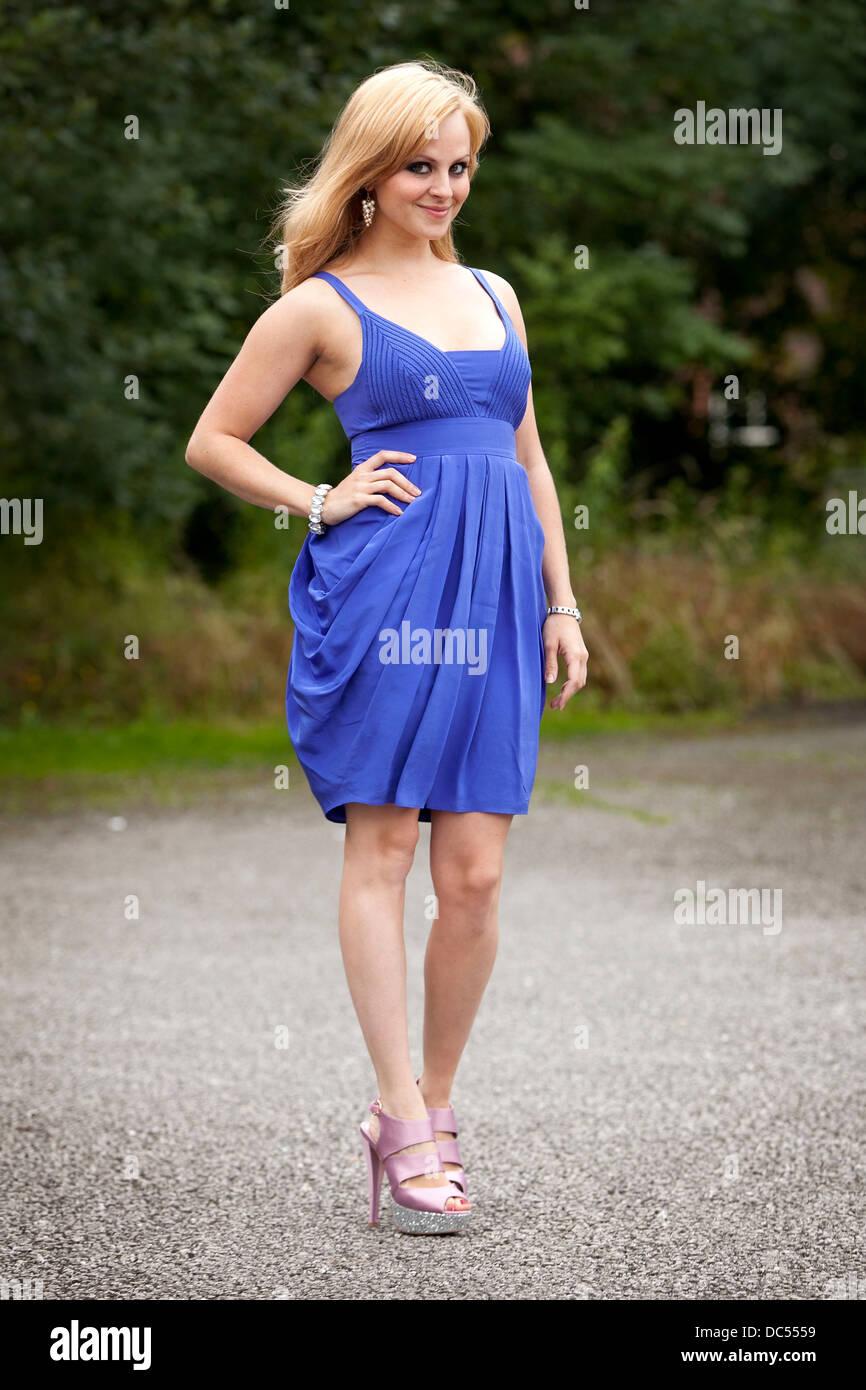 Actress Tina O'Brien - Stock Image