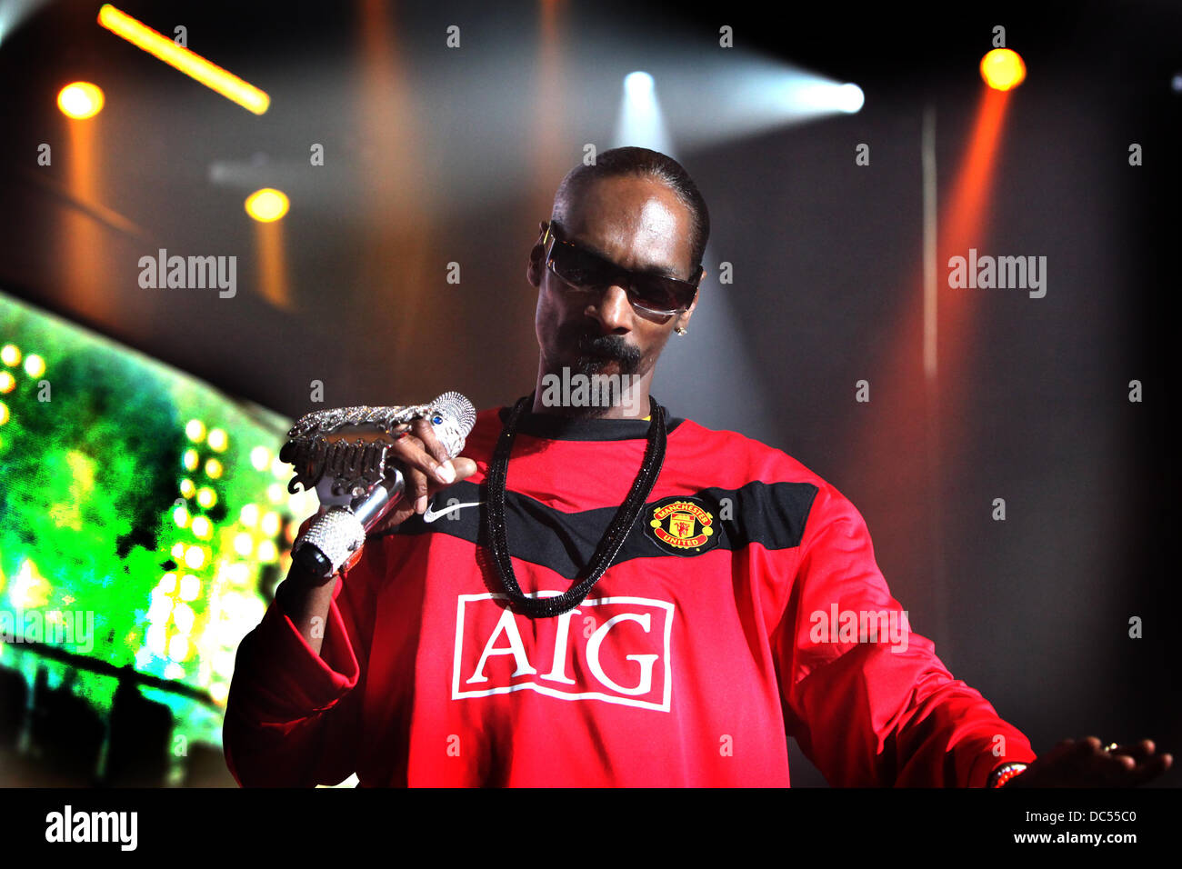Snoop Doggy Dog at Apollo theatre Manchester . - Stock Image