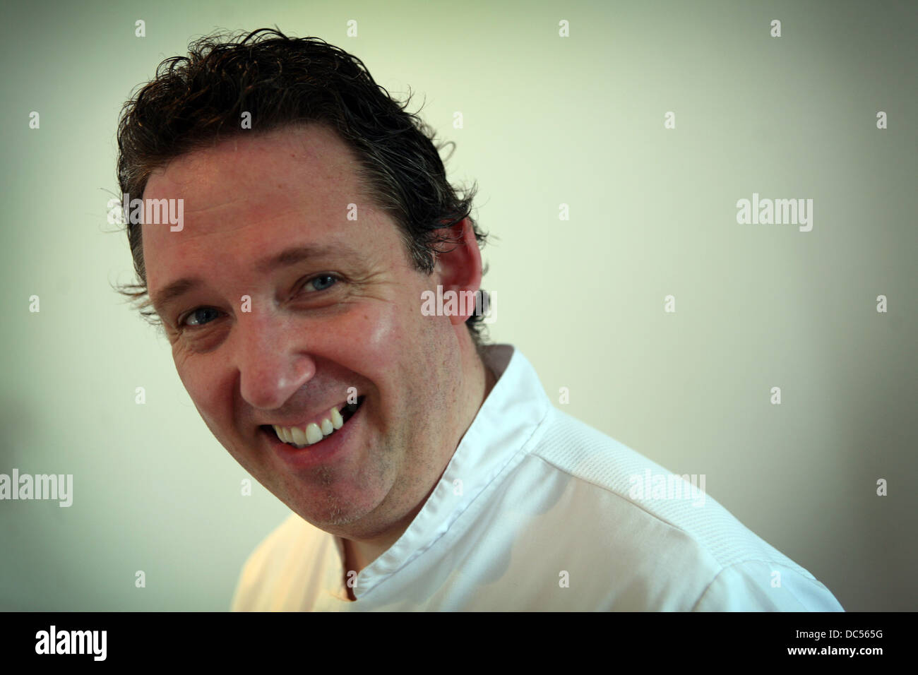 Chef John Benson Smith Picture Chris Bull Stock Photo Alamy