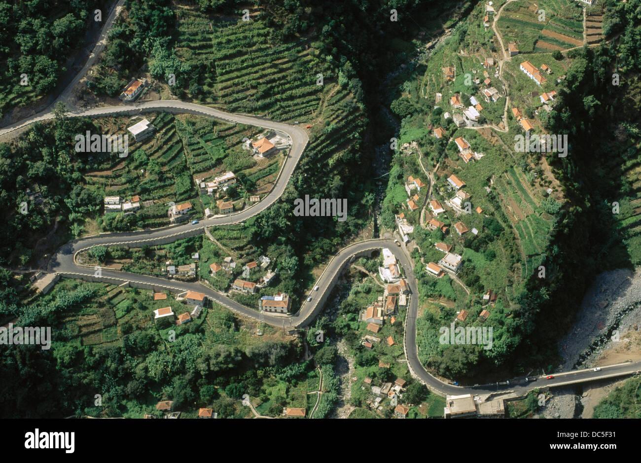 Curral das Freiras. Madeira Island. Portugal. - Stock Image