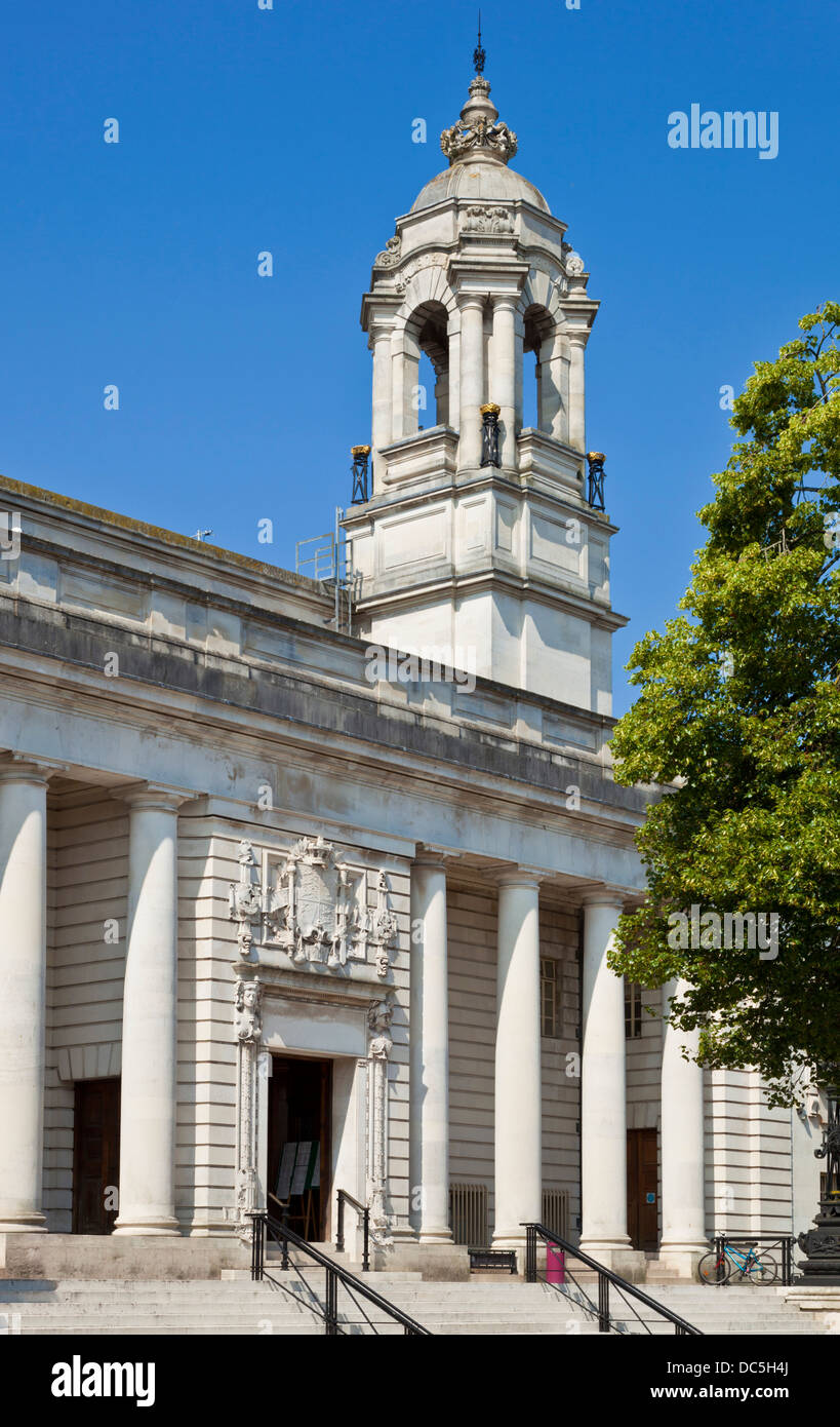 Cardiff Crown Court Law Courts Cardiff South Glamorgan South Wales UK GB EU Europe - Stock Image