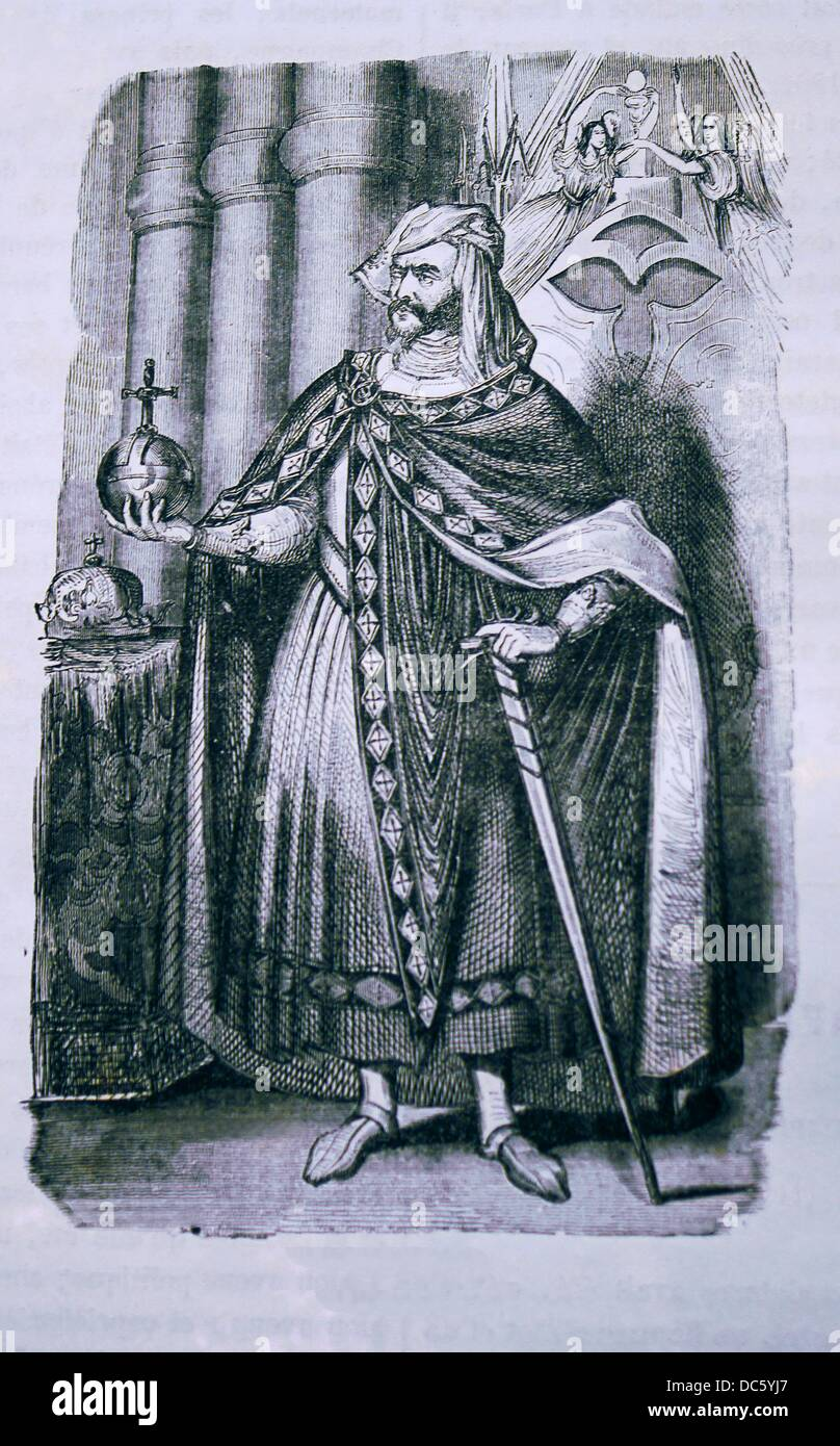 England-France-History- Henry II 5 March 1133 - 6 July 1189 ruled as King of England 1154-1189, Count of Anjou, - Stock Image