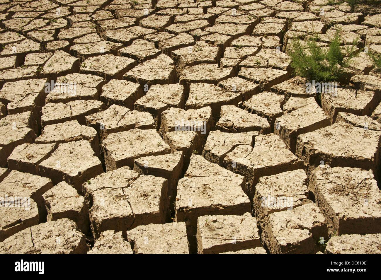 Drought, water rain missing - Stock Image