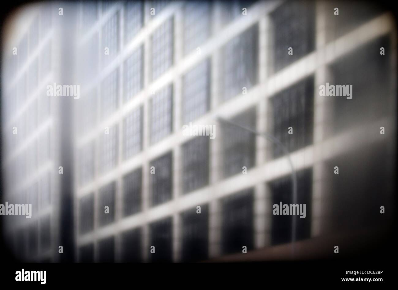 Business buildings, London, England, UK - Stock Image