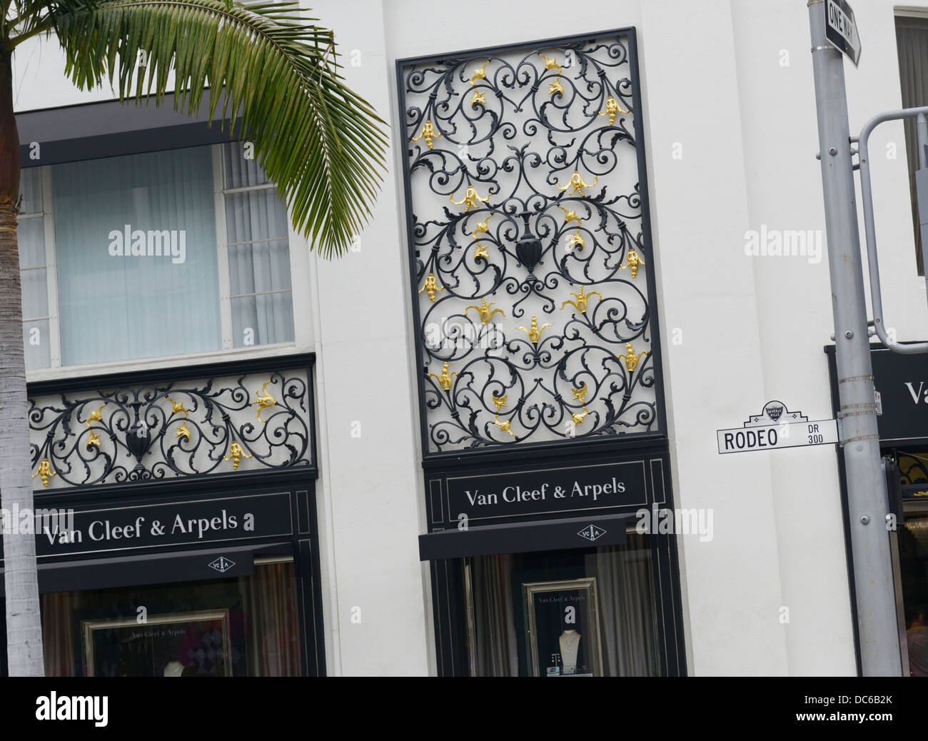 Rodeo Drive, Beverly Hills, CA - Stock Image