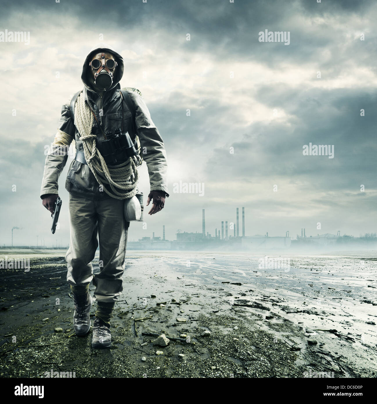 Environmental disaster - Stock Image