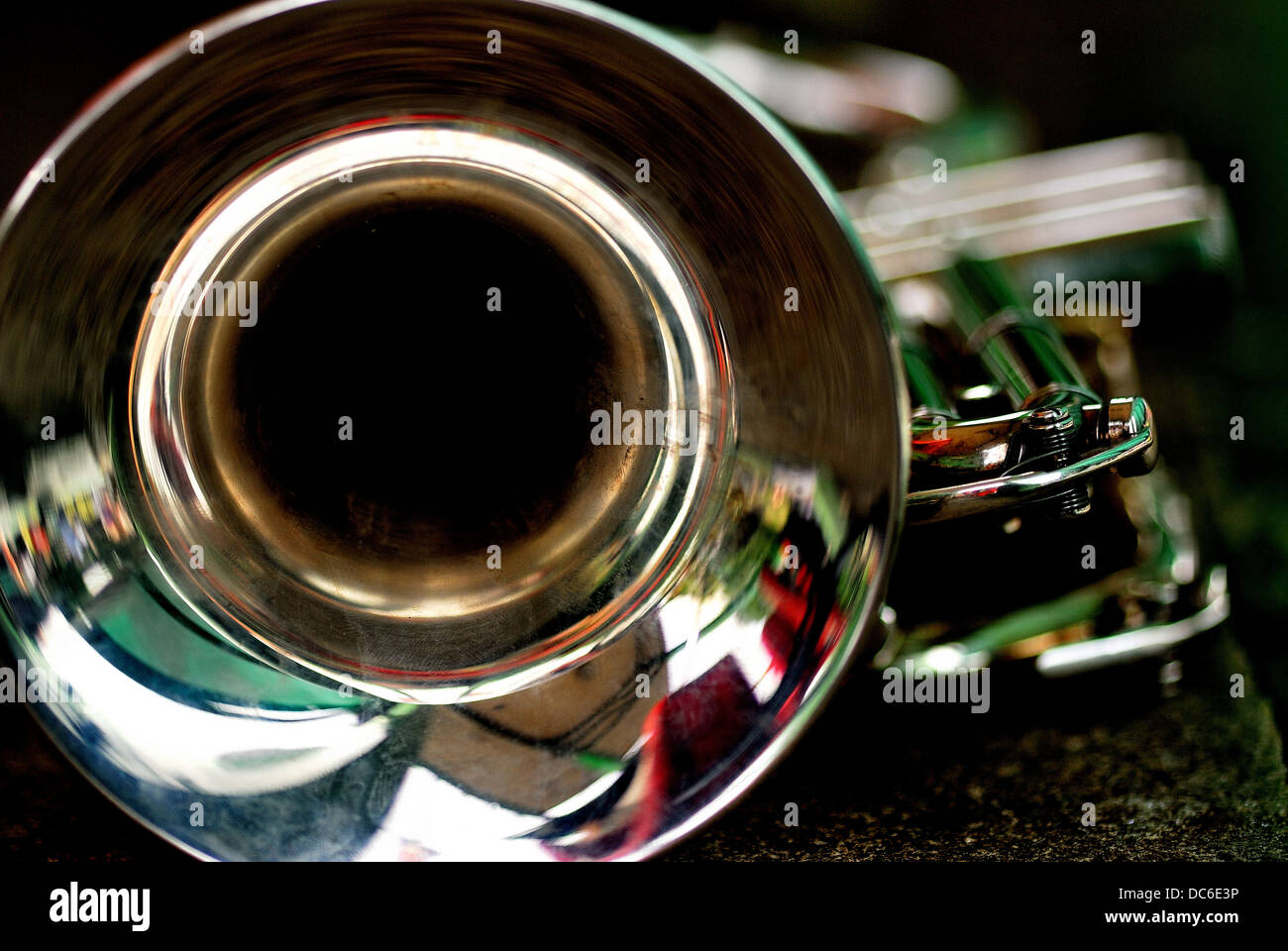 A brass instrument - Stock Image