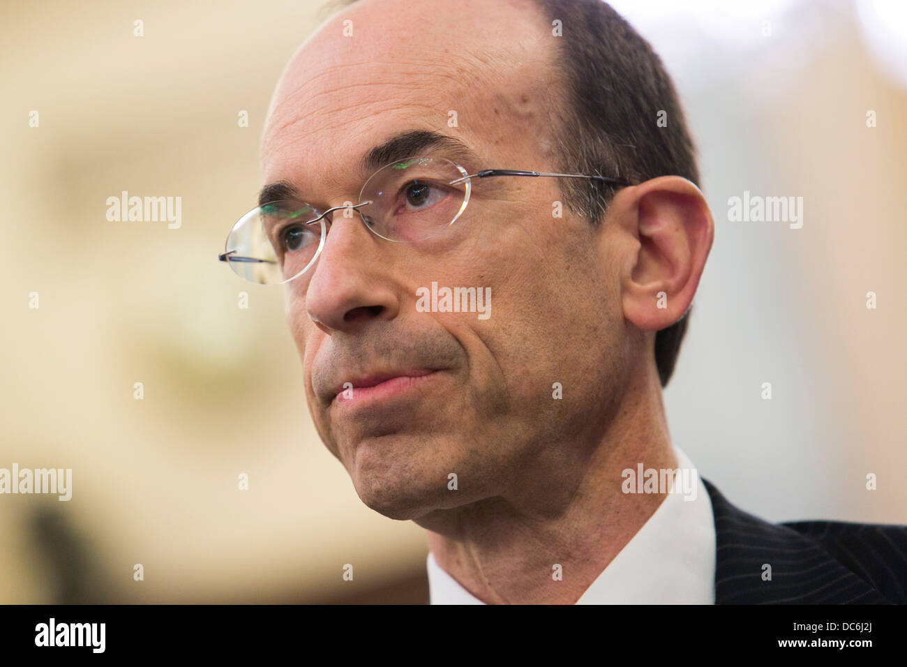 Adam Goldstein, CEO of Royal Caribbean International. - Stock Image
