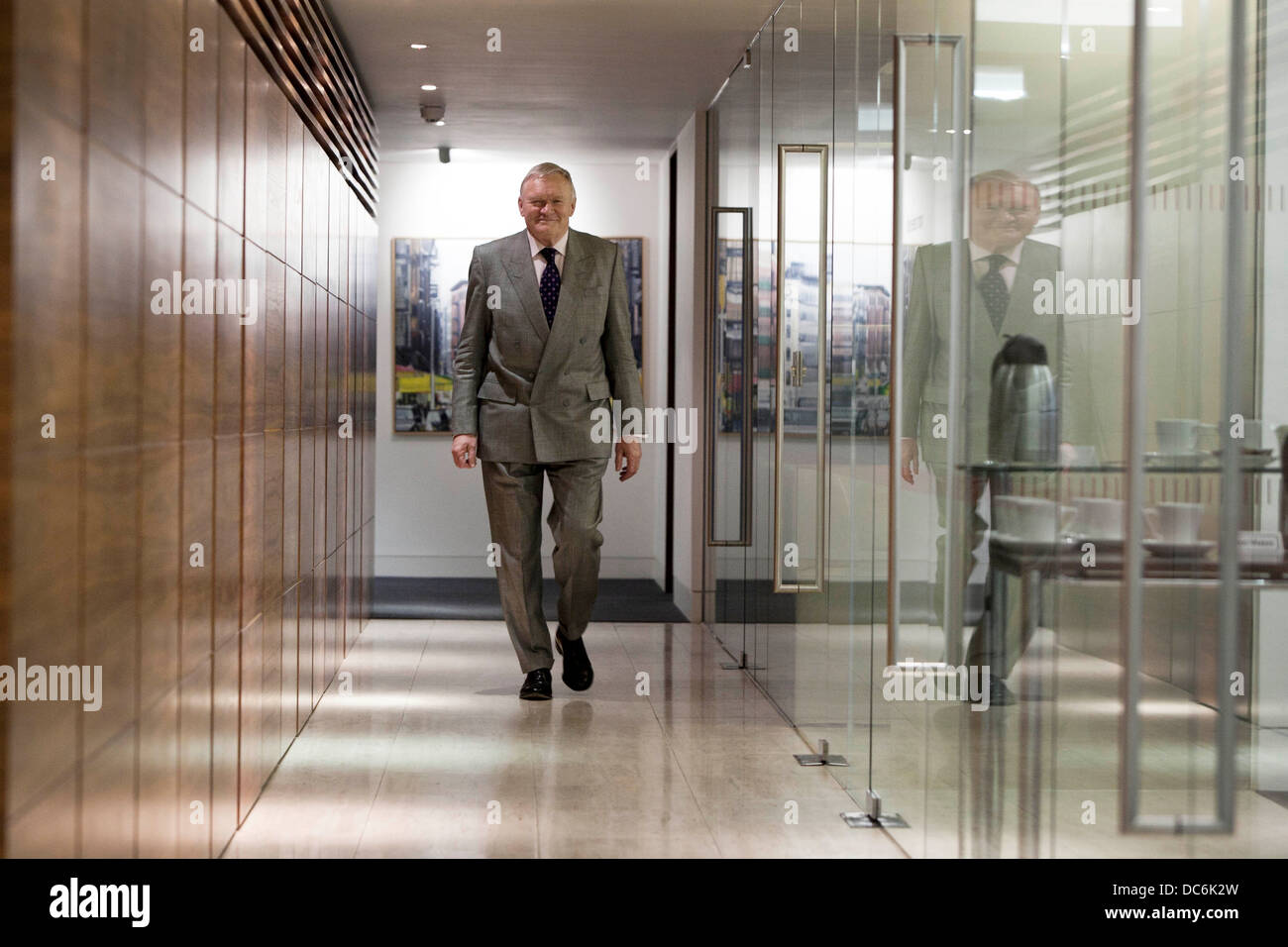 Bruntwood Chairman Michael Oglesby - Stock Image