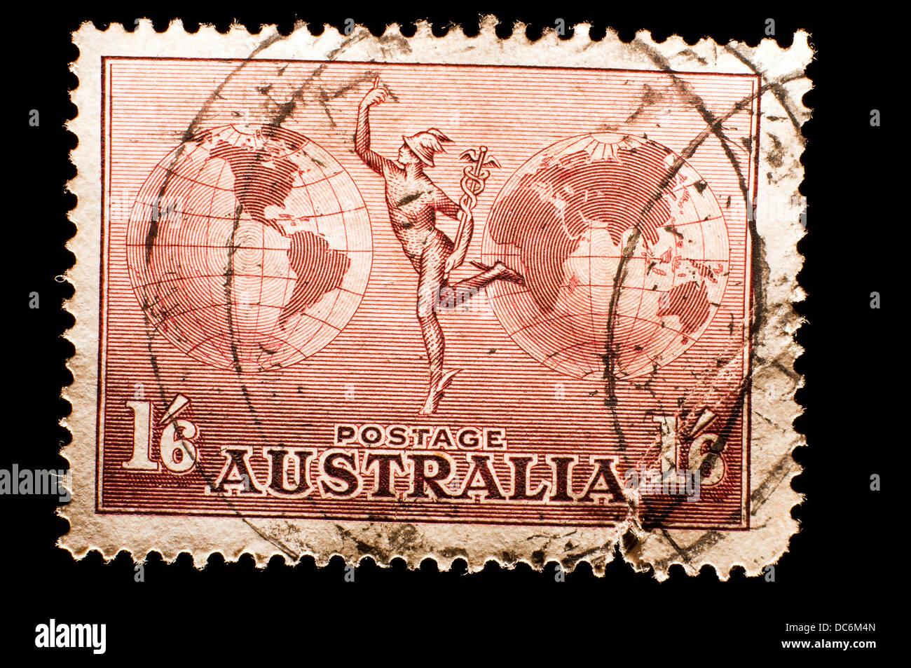 Australia postage stamp - Stock Image