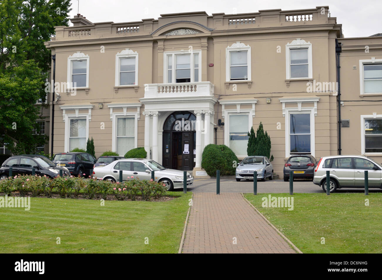 Woodhouse College in North Finchley, London, UK. Stock Photo