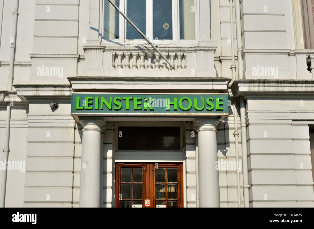 Leinster House in Bayswater, London, UK. - Stock Image