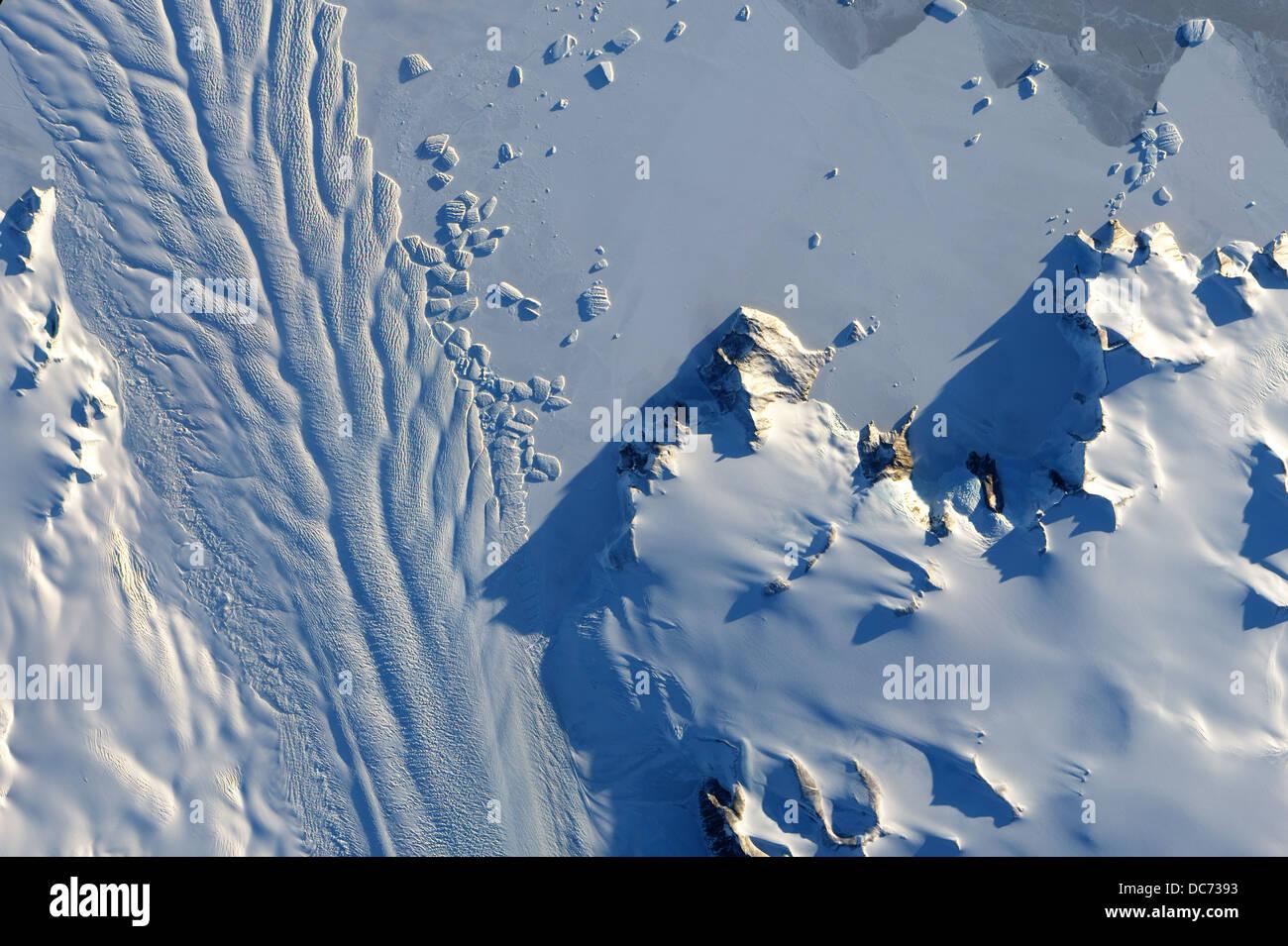 Matusevich Glacier, Antartica - Stock Image