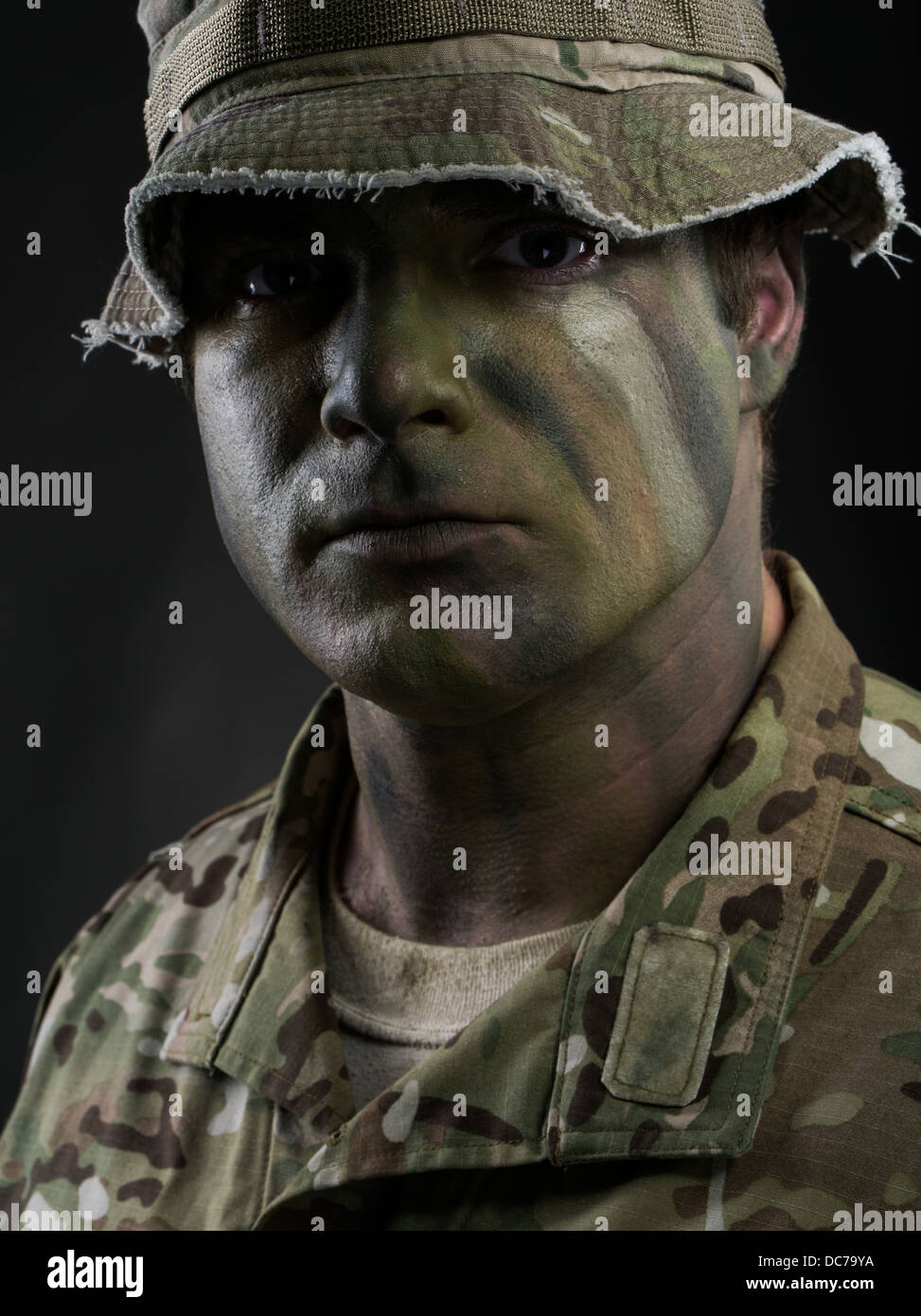 Commando Face Paint Designs