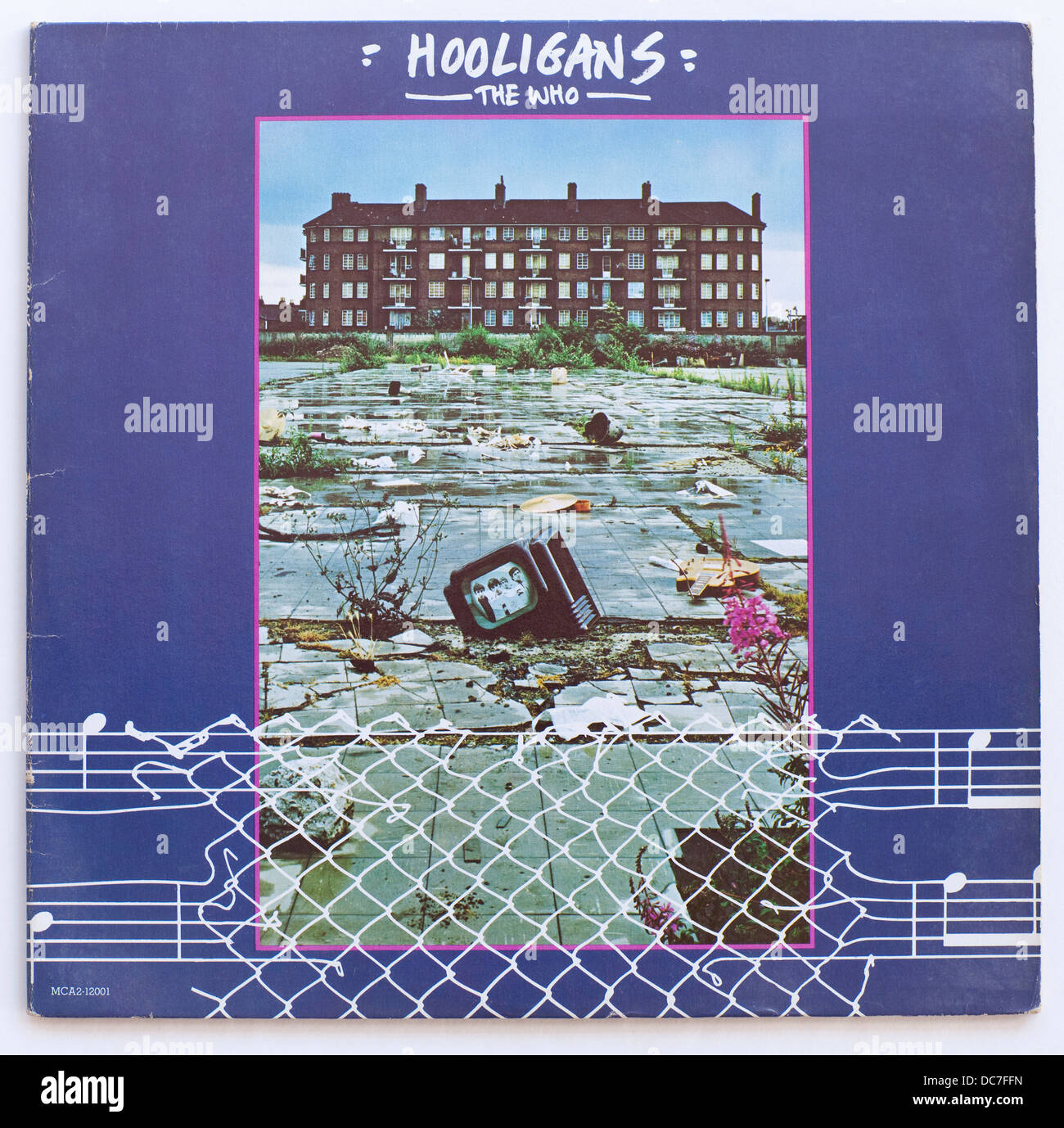 The Who - Hooligans, 1979 compilation album on MCA Records Stock Photo