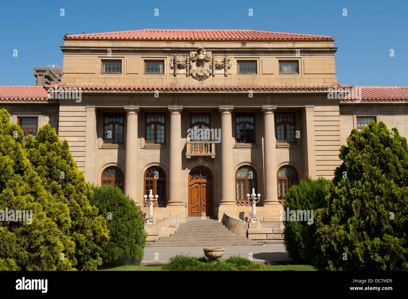 The Appeal court building, Bloemfontein, South Africa - Stock Image