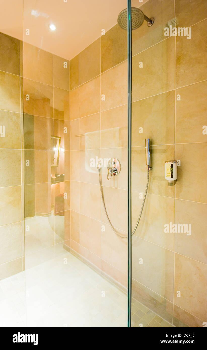 Dusche Badezimmer Modern Stock Photos Dusche Badezimmer Modern