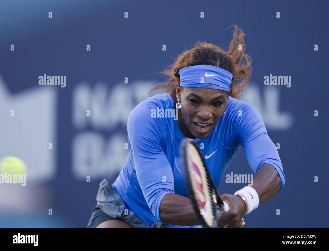 Toronto, Canada. 10th Aug, 2013. Rogers Canadian Open tennis championships. Serena Williams of The United States - Stock Image
