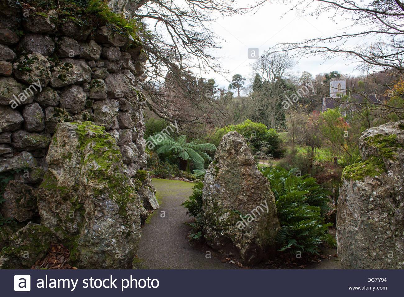 Bicton Garden Stock Photos & Bicton Garden Stock Images - Alamy