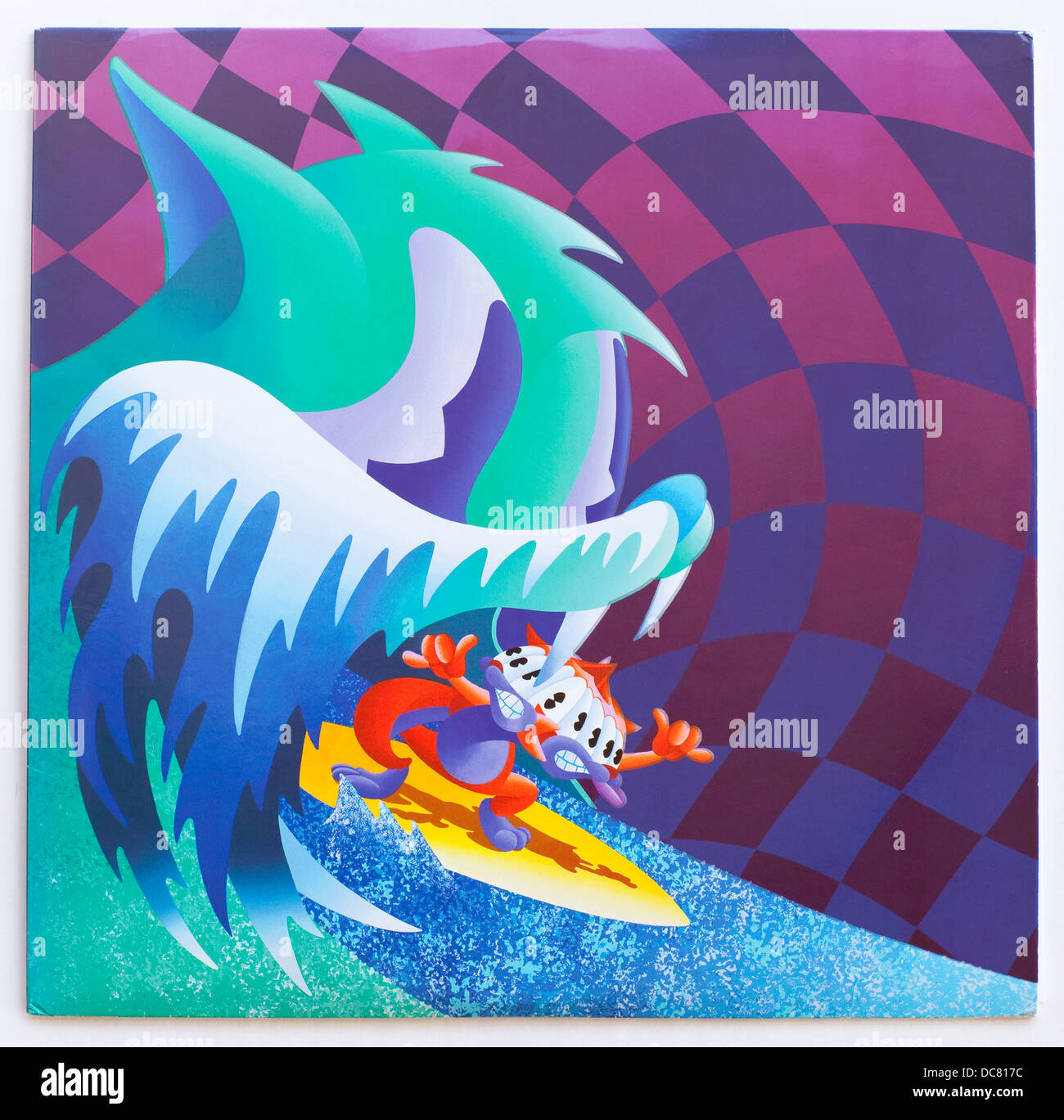 MGMT - Congratulations, 2010 album on Columbia Records - Stock Image