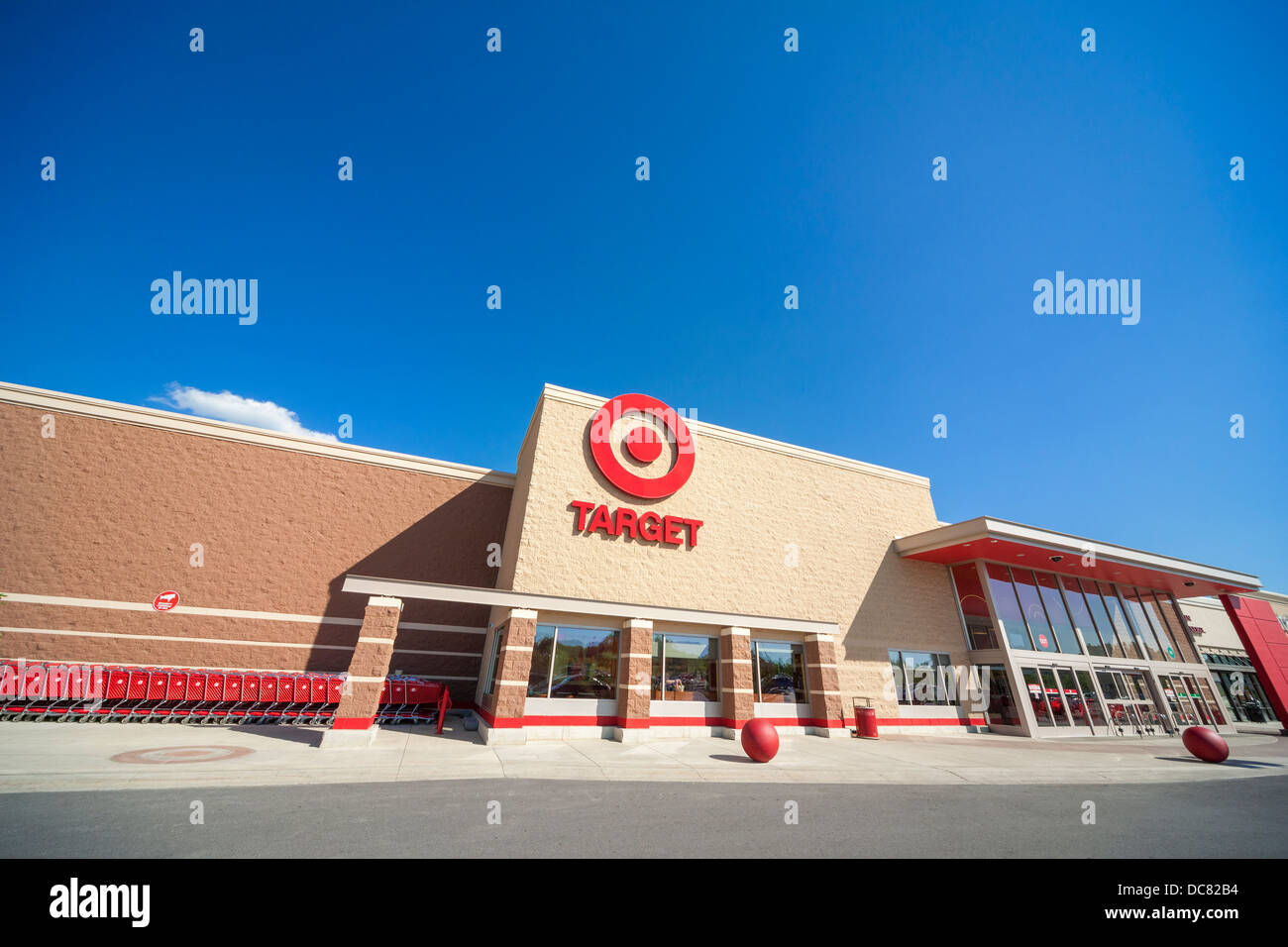 Target discount store Waynesboro Virginia VA USA - Stock Image