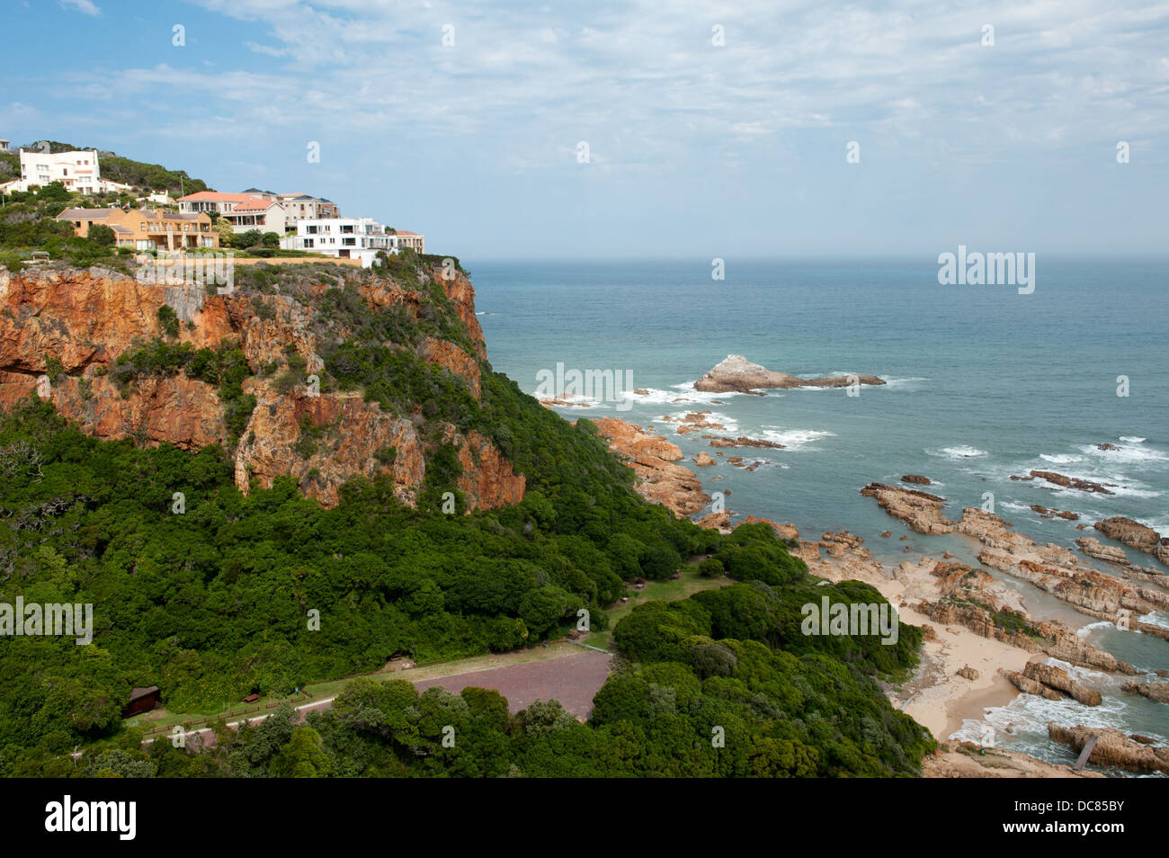 View from Eastern Head Viewpoint, Knysna, Western Cape, South Africa - Stock Image