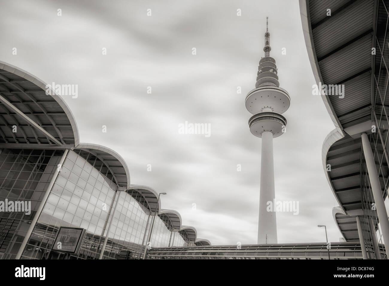 Fernsehturm Hamburg - Heinrich-Hertz-Turm - Tele-Michel - Stock Image