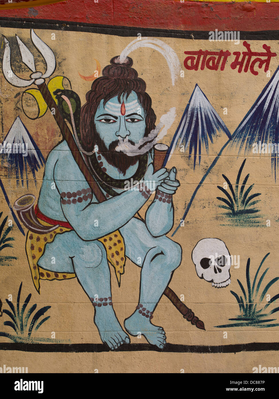 Indian Hindu Mural High Resolution Stock Photography And Images Alamy