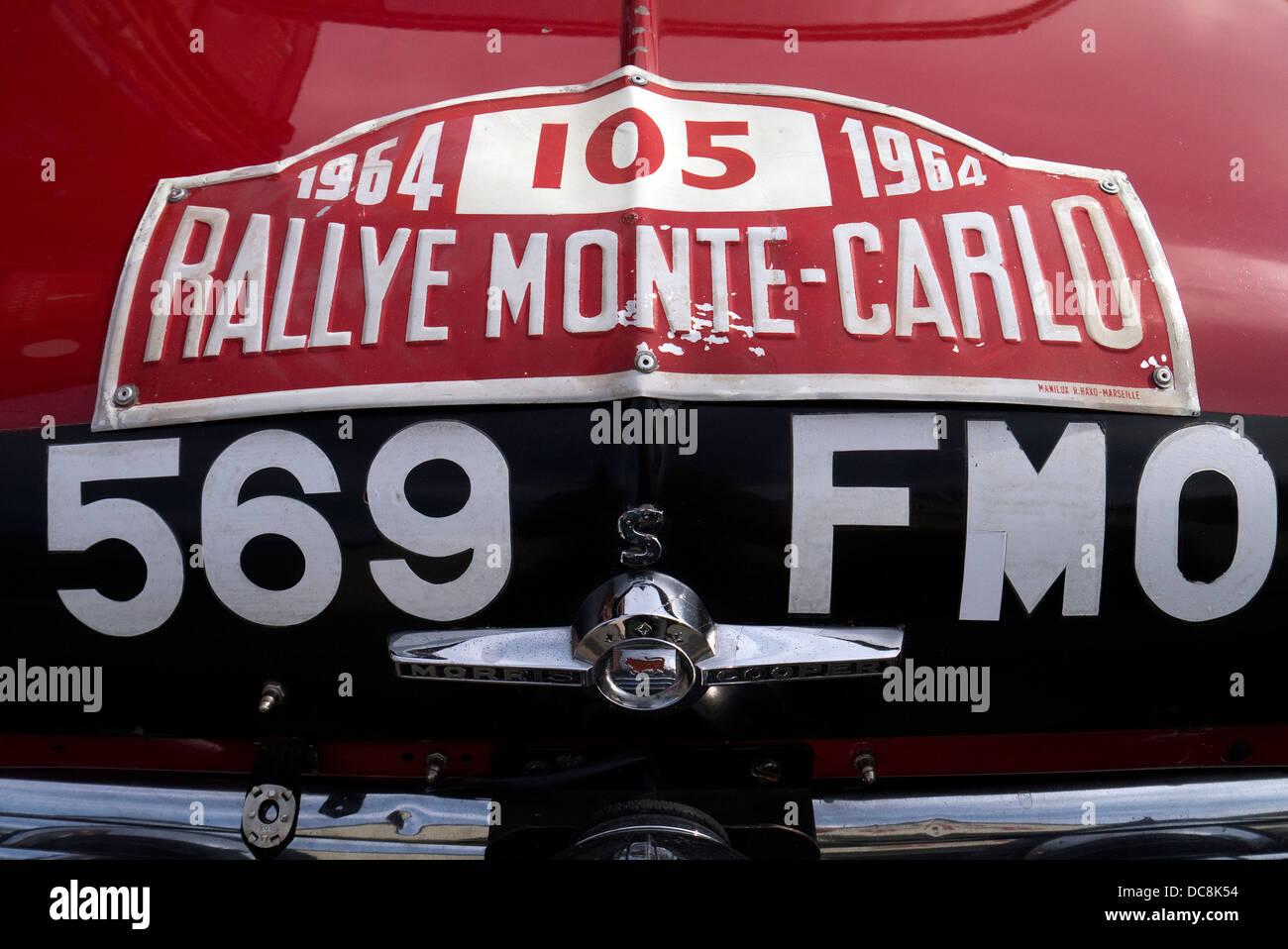 1964 Morris Mini Cooper Monte Carlo Rally Car Driver Rauno
