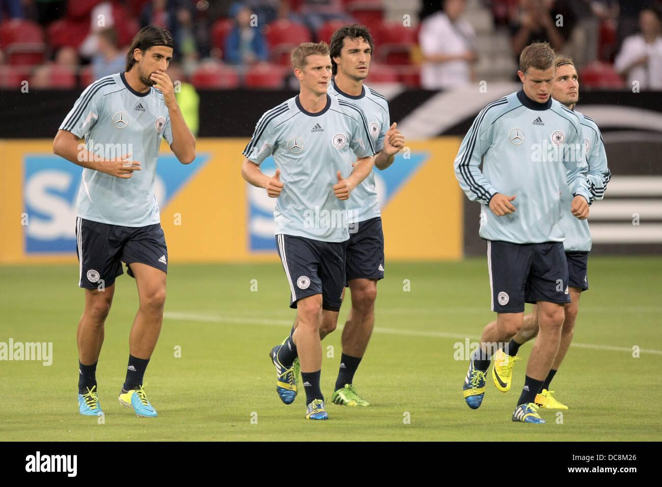 German Team Sami Khedira Stock Photos   German Team Sami Khedira ... 76897bd68e31b