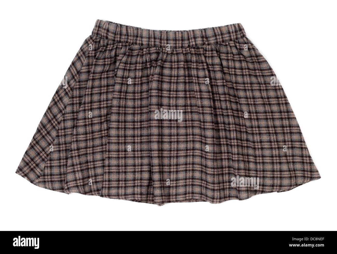 86f19b797f932c Plaid Skirt Stock Photos & Plaid Skirt Stock Images - Alamy