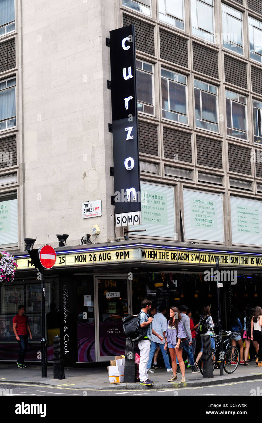 new styles b9aa7 c2a5e A general view of Curzon cinema in Soho, London, UK