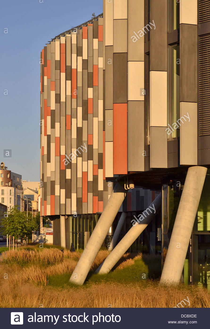 ''Main Point'' sustainable office building in Karlin Prague Czech Republic - Stock Image