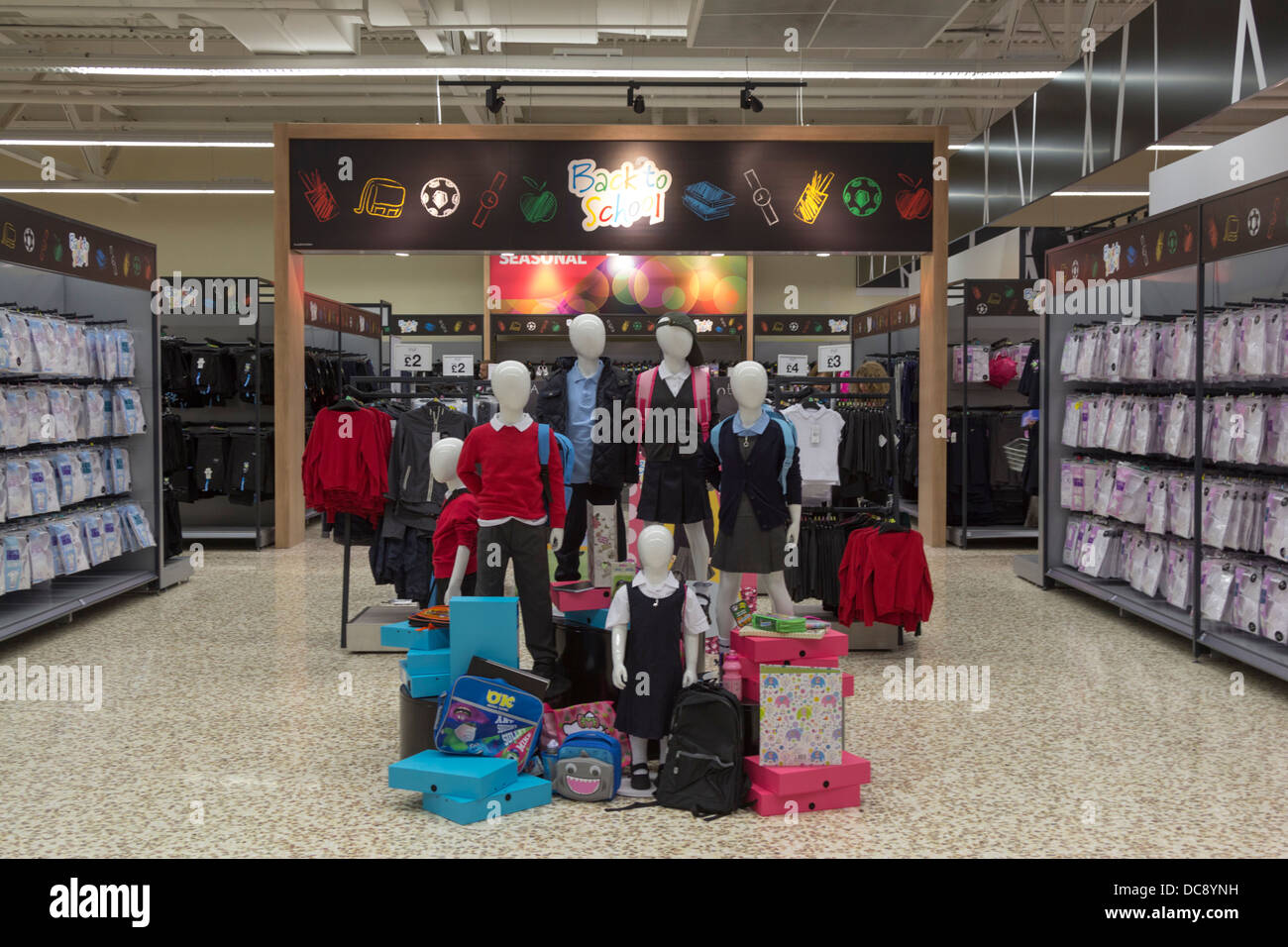 42c1351ca2e5 School Clothing - Revamped Tesco Extra Hypermarket - Watford - Hertfordshire