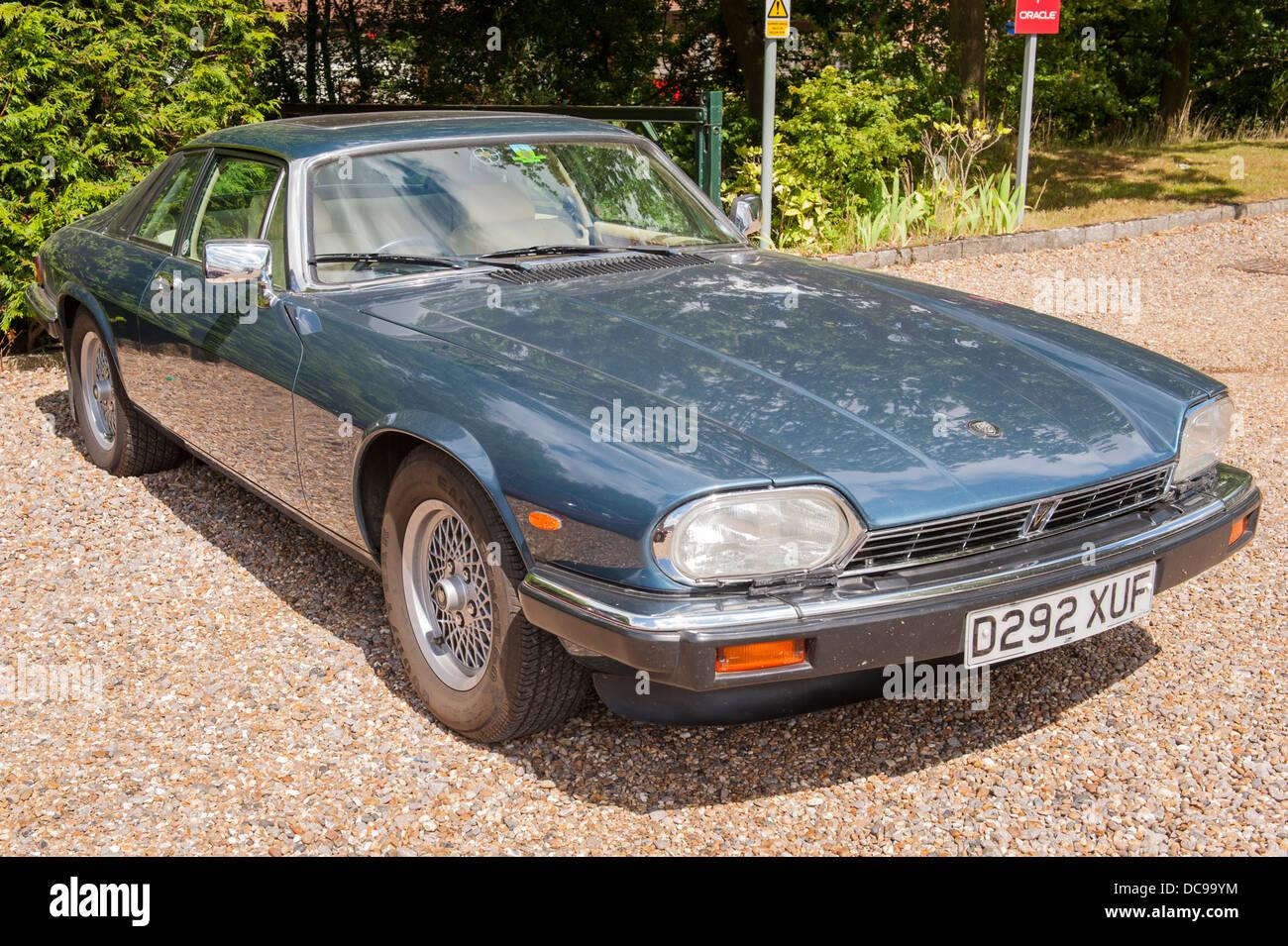 De Havilland Museum 1986 Jaguar Xj S V12 Auto Blue Petrol 2 Dr Door