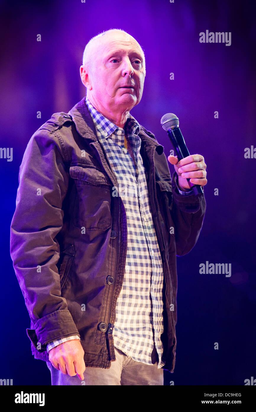 Jasper Carrott at Fairport's Cropredy Convention 2013 - Stock Image