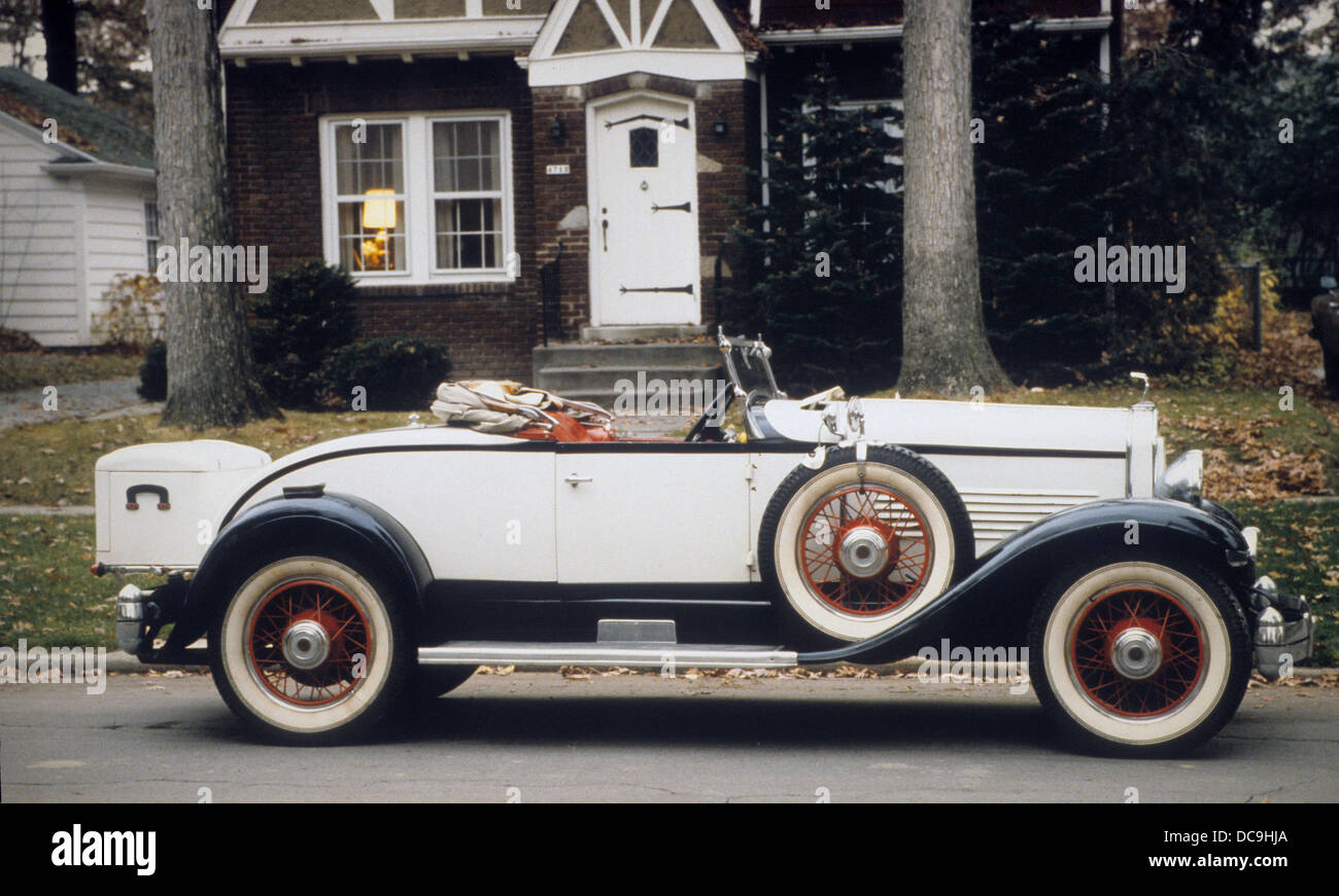 1929 MOON-WHITE PRINCE OF WALES  8-92 - Stock Image