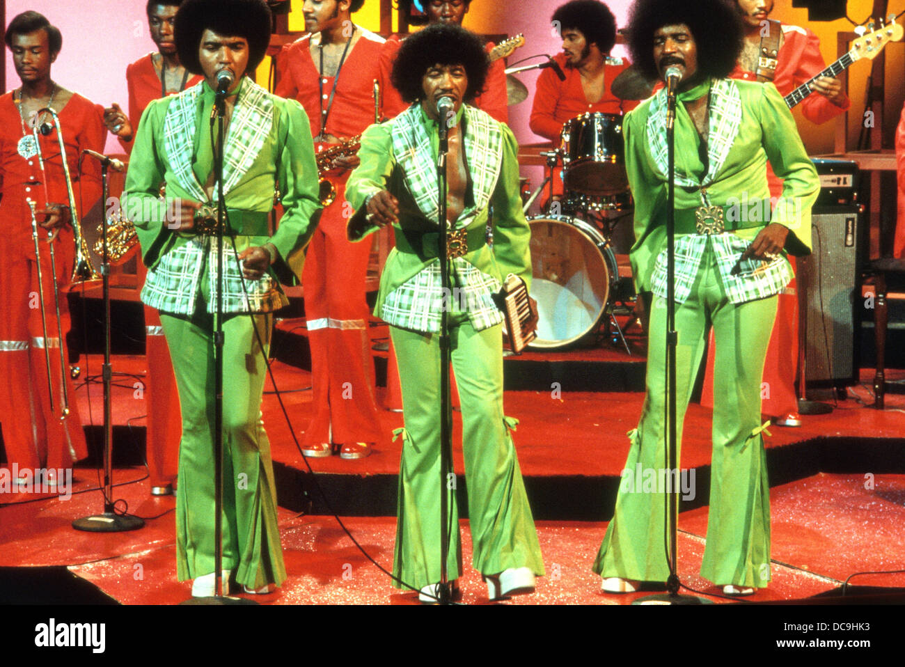 CHI-LITES American vocal trio about 1972 - Stock Image