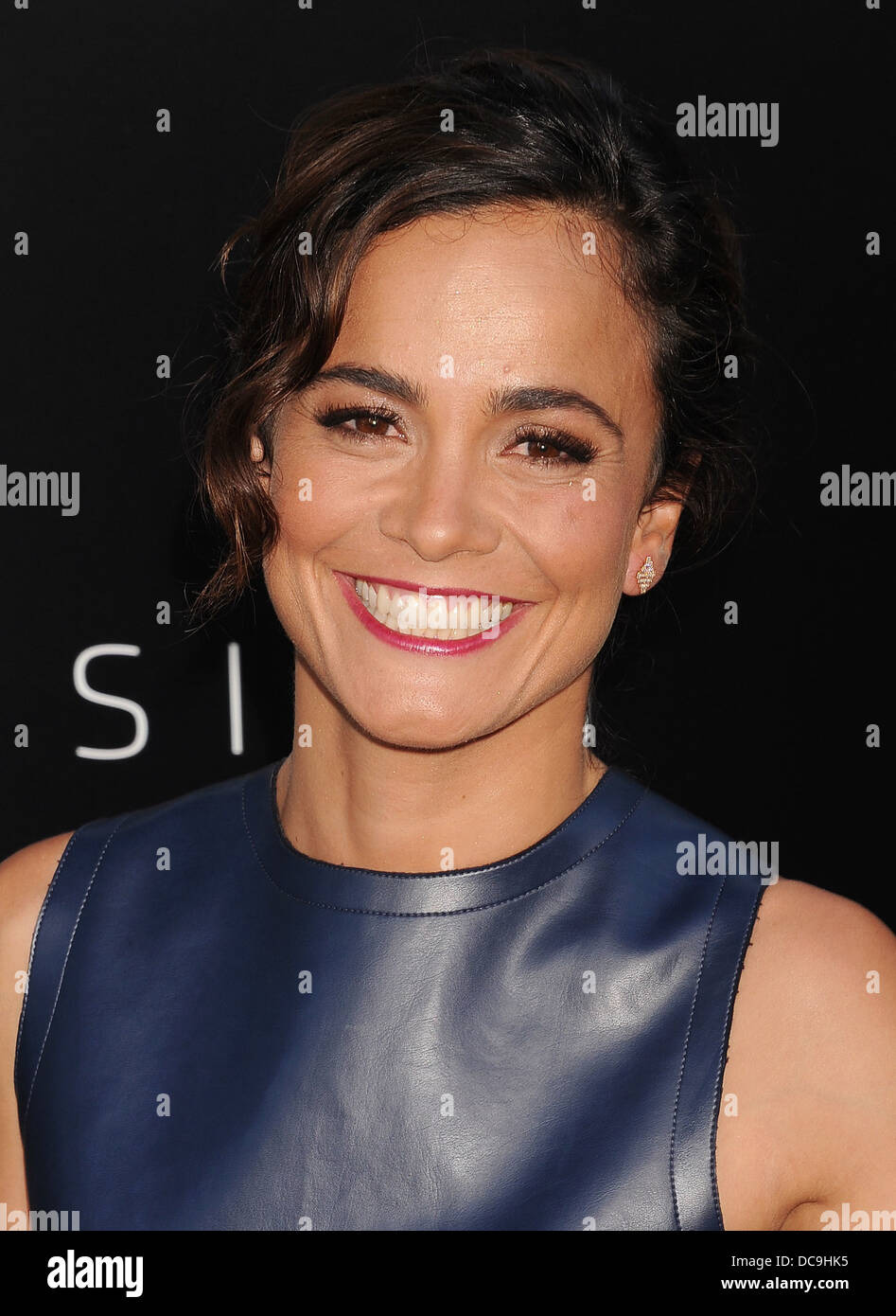 ALICE BRAGA Brazilian film actress in August 2013. Photo Jeffrey Mayer - Stock Image