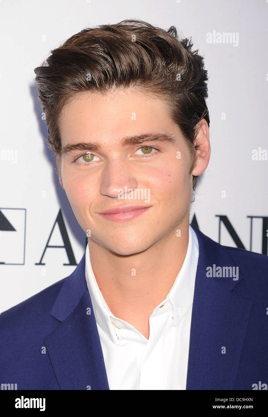 WILL PELT US film actor in August 2013. Photo Jeffrey Mayer - Stock Image