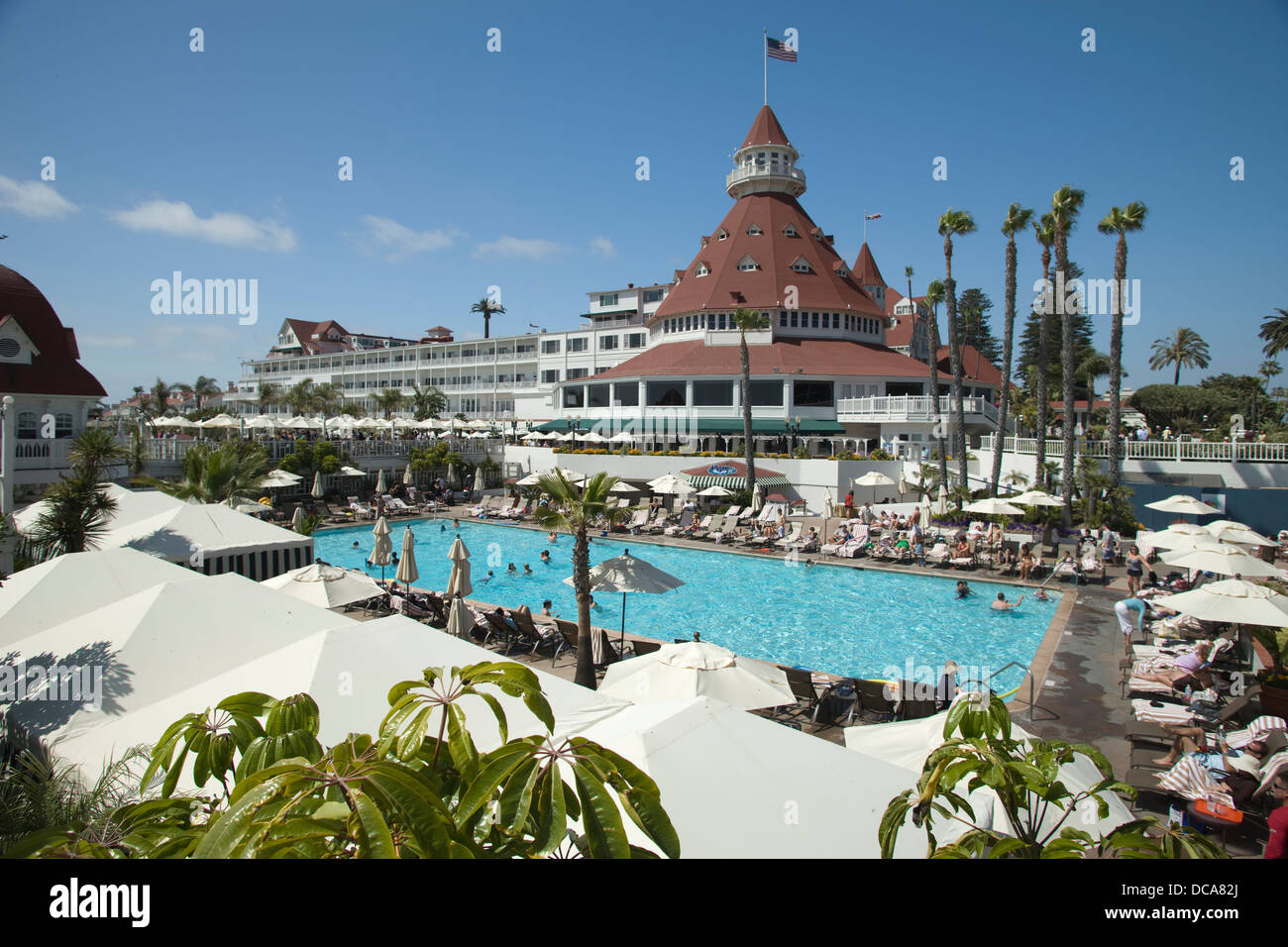 Swimming pool hotel del coronado san diego california usa - Clairemont swimming pool san diego ca ...