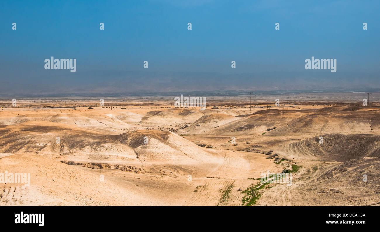 Judaean Desert - Stock Image