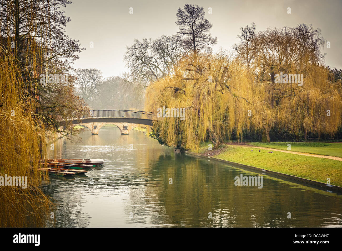 Cam river, Cambridge - Stock Image