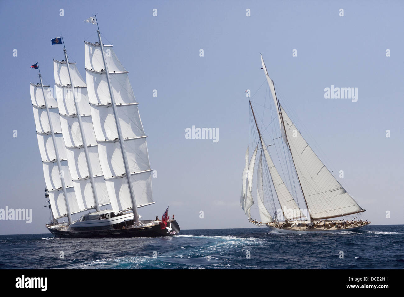 The Super Yacht Cup, Palma de Mallorca, Spain Stock Photo