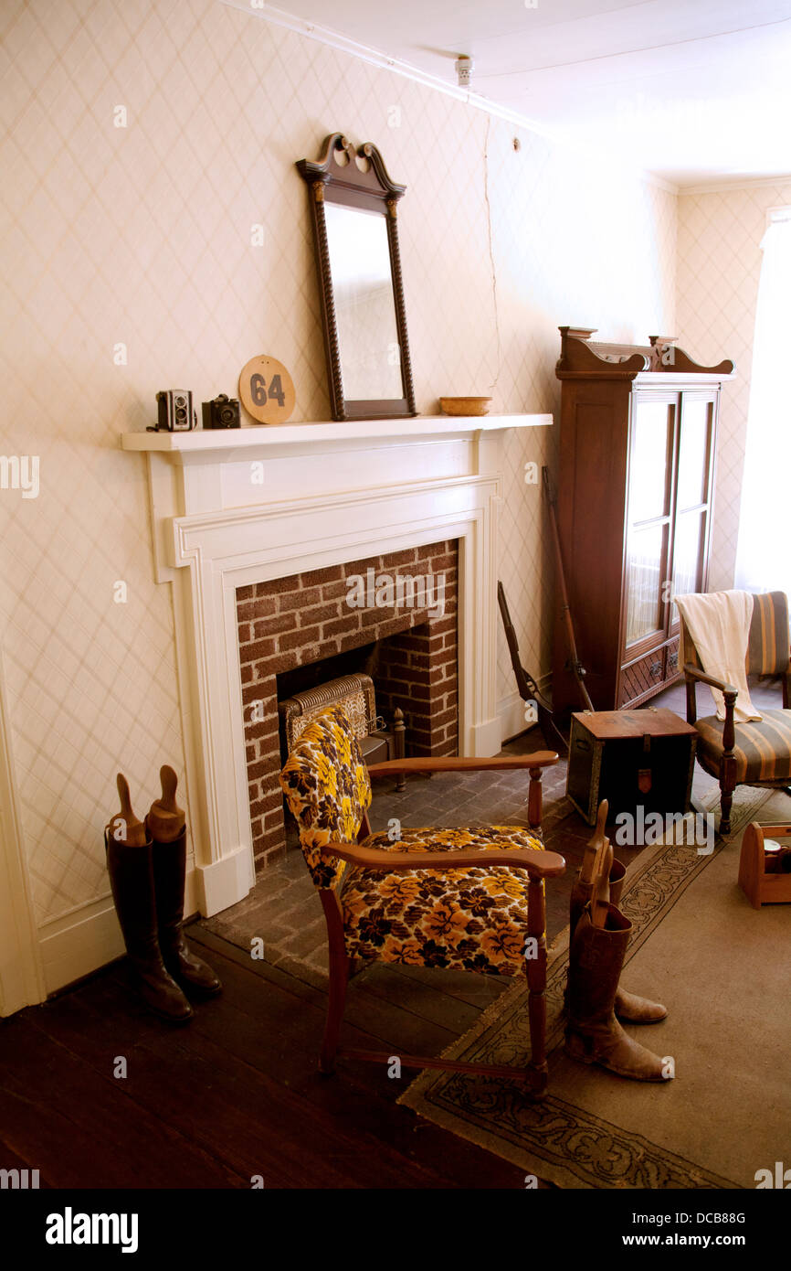 The Bedroom Of William Faulkner At His Home U0027Rowan Oaku0027 In Oxford  Mississippi USA