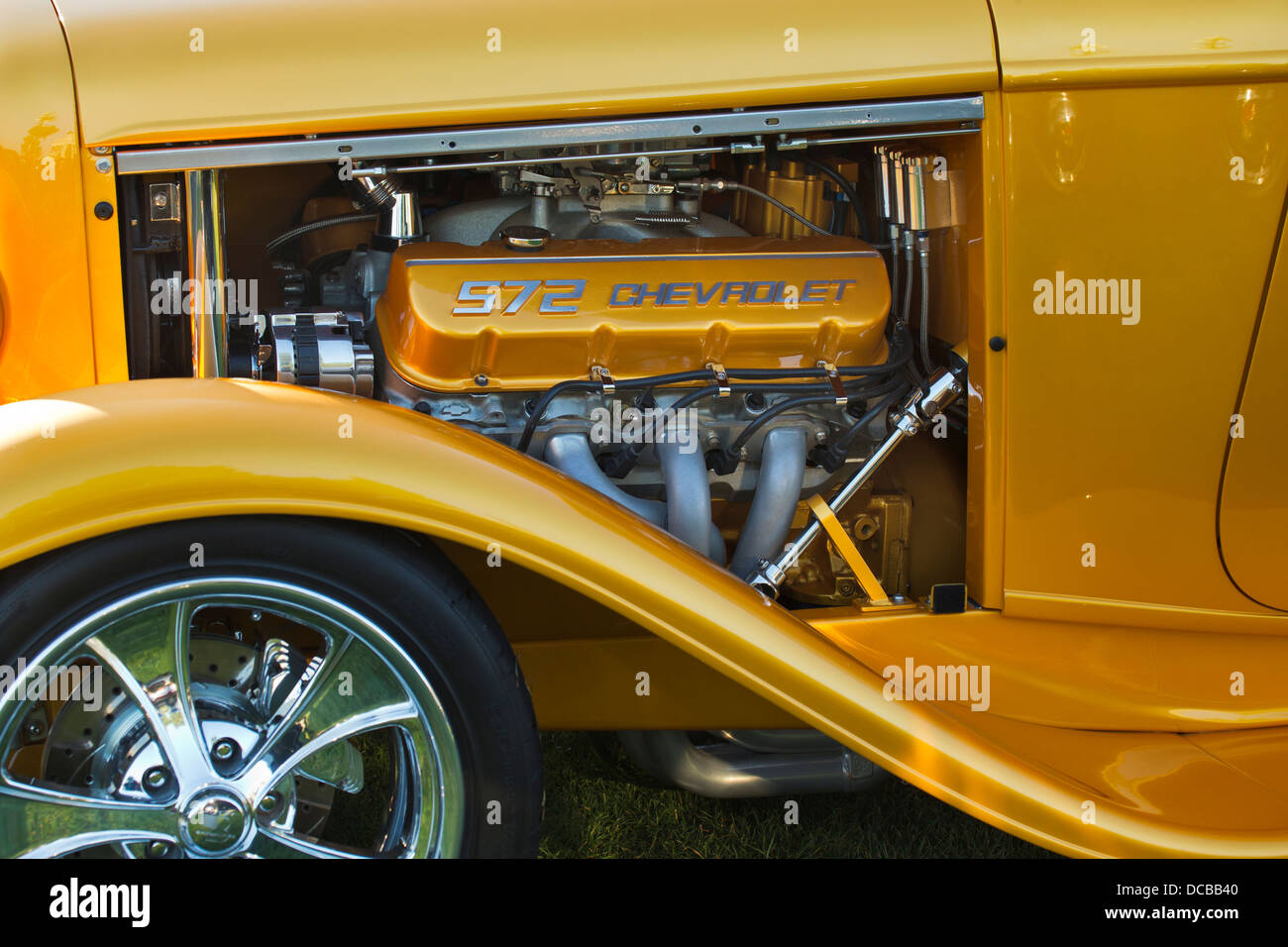 572 Cubic Inch Big Block Chevrolet Engine In 1932 Ford