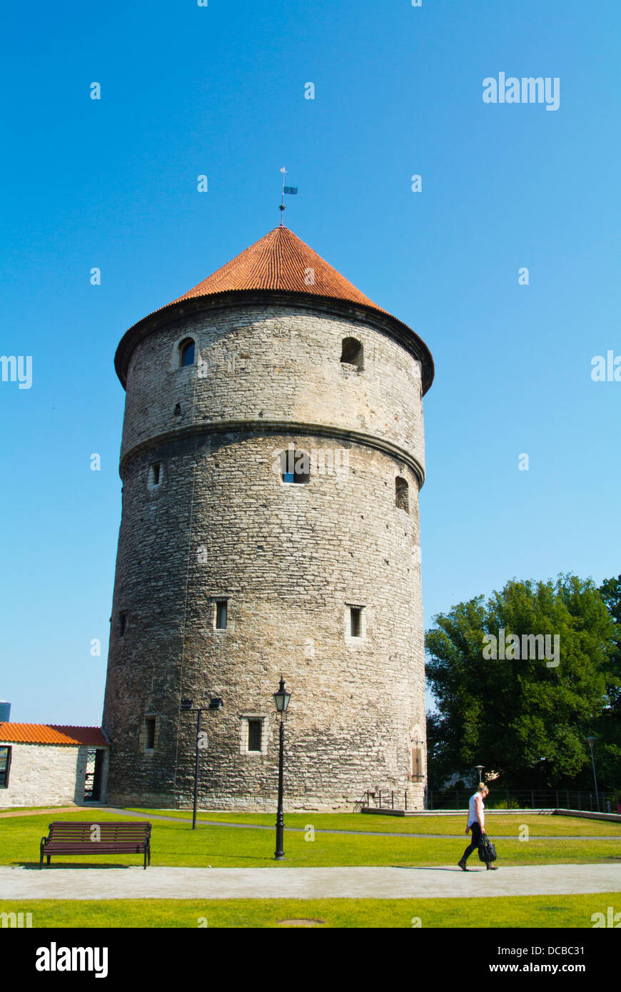 Kiek in de Kök tower Vanalinn old town Tallinn Estonia the Baltics Europe - Stock Image