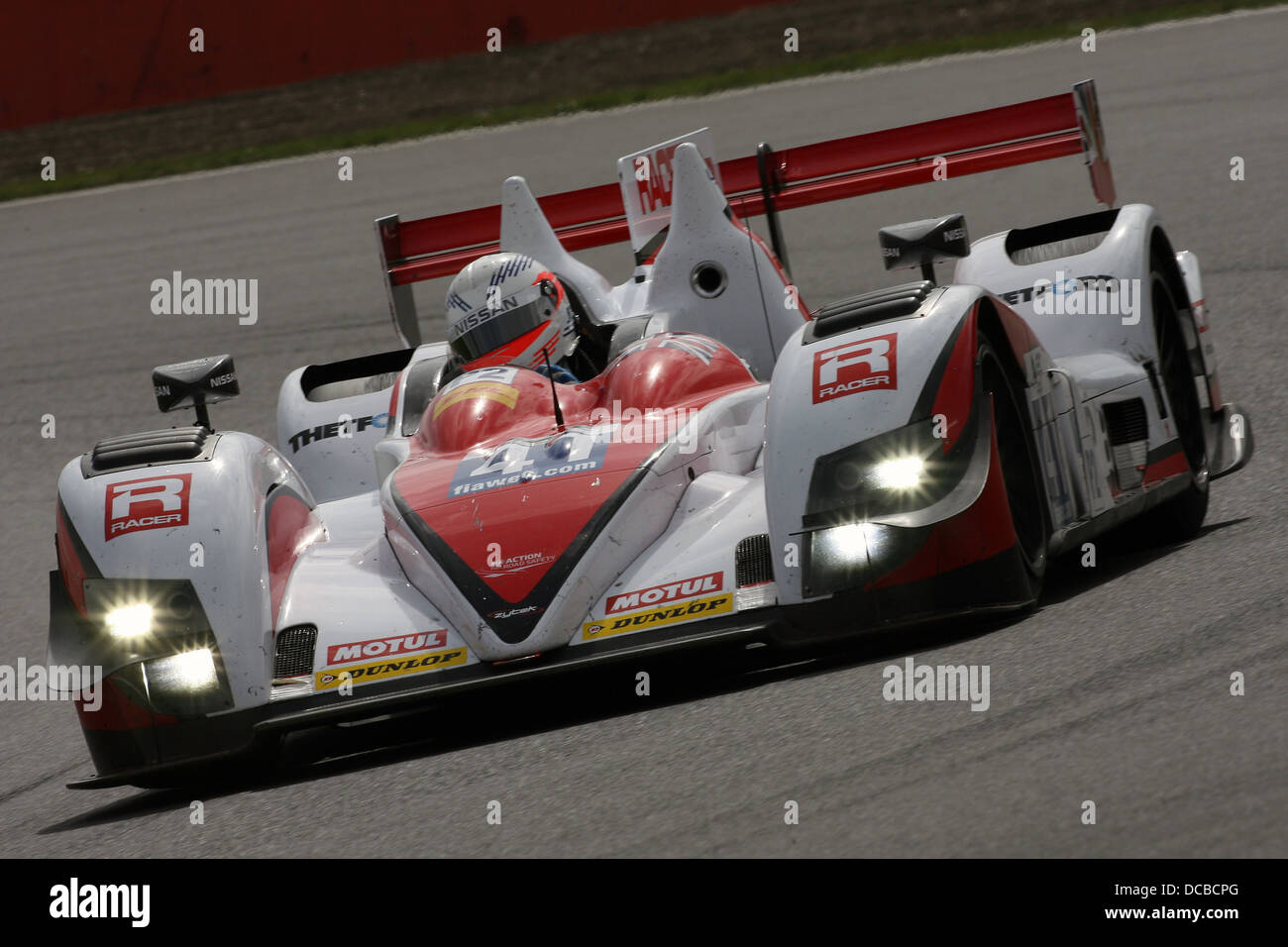 Nissan LMP2 at the Silverstone 6 Hours, 2013 - Stock Image